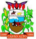 Prefeitura de Capão Alto - SC anuncia o cancelamento do Processo Seletivo