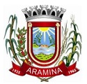 Prefeitura de Aramina - SP altera data de provas de Concurso Público