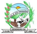 Prefeitura de Vale do Paraíso - RO divulga retificação do Concurso nº 001/2010