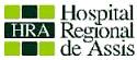 Hospital Regional de Assis - SP abre seleção de Fisioterapeuta com duas vagas