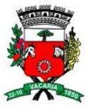 Prefeitura de Vacaria - RS retifica novamente o concurso nº. 1/2014