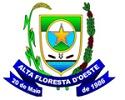 Prefeitura de Alta Floresta d' Oeste - RO retifica Concurso