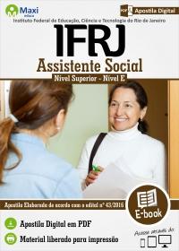 Assistente Social - Nível E - IFRJ