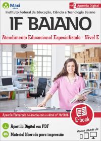 Atendimento Educacional Especializado - AEE - IF Baiano