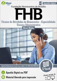 Técnico Administrativo - FHB