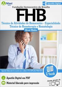 Técnico de Hemoterapia e Hematologia - FHB