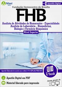 Analista de Laboratório - Biomedicina, Biologia e Farmácia Bioquímica - FHB
