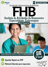 Analista de Atividades do Hemocentro - Especialidade Enfermagem - FHB