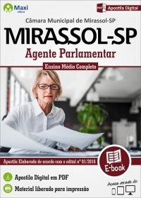 Agente Parlamentar - Câmara de Mirassol - SP