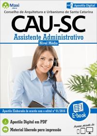 Assistente Administrativo - CAU-SC