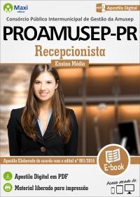 Recepcionista - PROAMUSEP-PR