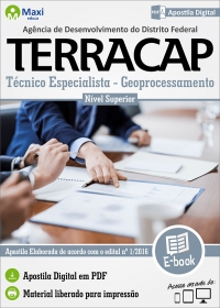 Técnico Especialista - Geoprocessamento - TERRACAP