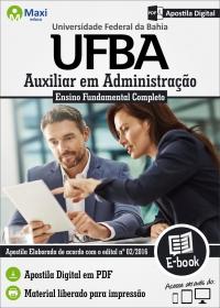 Auxiliar em Administração - UFBA
