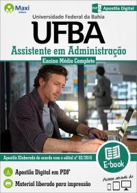 Assistente em Administração - UFBA