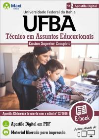 Técnico em Assuntos Educacionais - UFBA
