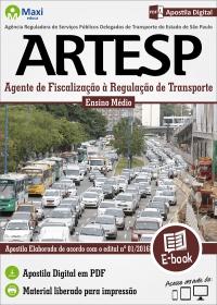 Agente de Fiscalização à Regulação de Transporte - ARTESP-SP