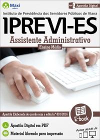 Assistente Administrativo - IPREVI - ES