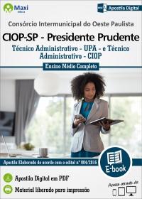 Técnico Administrativo - CIOP - SP