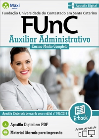 Auxiliar Administrativo - FUnC - SC
