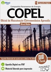Oficial de Manutenção Eletromecânica Aprendiz - COPEL