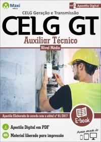 Auxiliar Técnico - CELG Geração e Transmissão