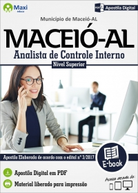 Analista de Controle Interno - Prefeitura de Maceió - AL