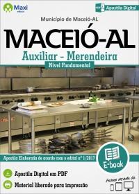 Auxiliar/Merendeira - Prefeitura de Maceió - AL