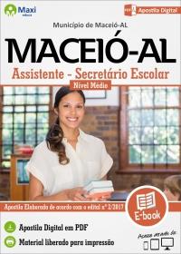 Assistente/Secretário Escolar - Prefeitura de Maceió - AL
