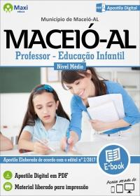 Professor/Educação Infantil - Prefeitura de Maceió - AL