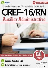 Auxiliar Administrativo - CREF - 16ª Região - RN