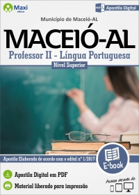 Professor II - Língua Portuguesa - Prefeitura de Maceió - AL