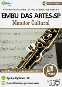 Monitor Cultural - Prefeitura de Embu das Artes - SP