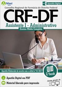 Assistente I - Administrativo - CRF - DF