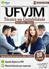 Técnico em Contabilidade - UFVJM