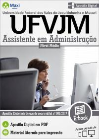 Assistente em Administração - UFVJM