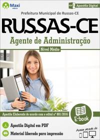 Agente de Administração - Prefeitura de Russas - CE
