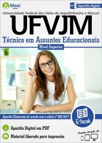Técnico em Assuntos Educacionais - UFVJM