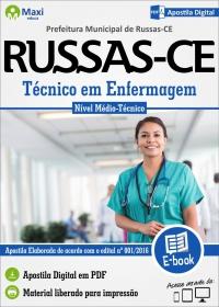 Técnico em Enfermagem - Prefeitura de Russas - CE