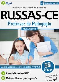 Professor de Pedagogia - Prefeitura de Russas - CE