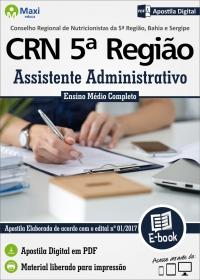 Assistente Administrativo - CRN 5ª Região