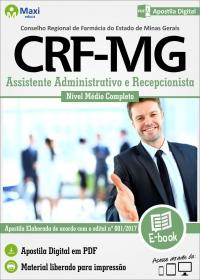Assistente Administrativo e Recepcionista - CRF - MG