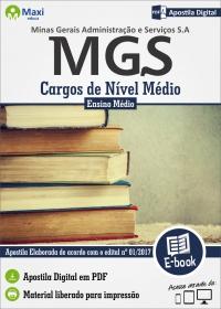 Cargos de Nível Médio - MGS