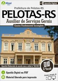 Auxiliar de Serviços Gerais - Prefeitura de Pelotas - RS