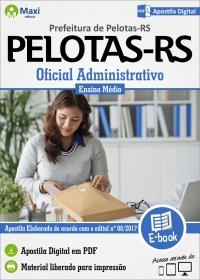 Oficial Administrativo - Prefeitura de Pelotas - RS