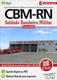 Soldado Bombeiro Militar - Corpo de Bombeiros Militar - RN