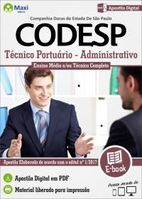 Técnico Portuário - Administrativo - CODESP