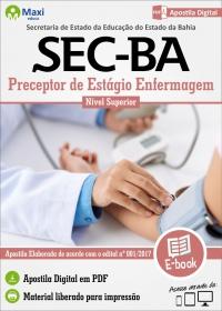 Preceptor de Estágio Enfermagem - SEC - BA