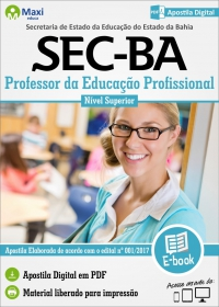 Professor da Educação Profissional - SEC - BA