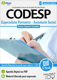 Assistente Social - CODESP