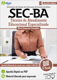 Técnico de Atendimento Educacional Especializado - SEC - BA